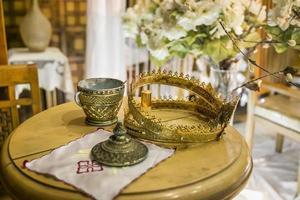 coronas de boda foto