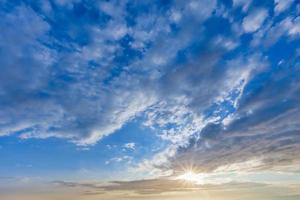 nubes de fondo foto