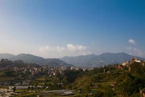 View of Kathmandu from Kitipur, Nepal