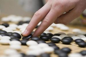 Traditional oriental logic game GO