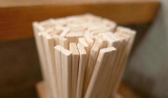 Japanese restaurant - Disposable Chopsticks photo