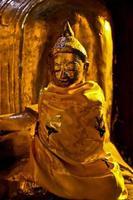 Buda en myanmar foto
