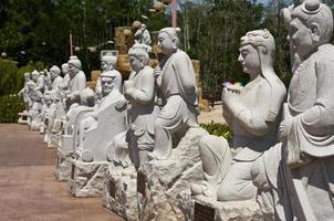 Statue at Tua Pek Kong Temple, Sitiawan, Malaysia