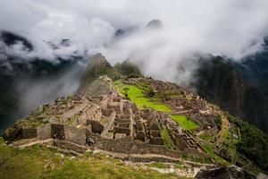 vista sobre Machu Picchu