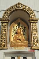 Buddha der Welt Friedens Pagode in Pokhara Nepal photo