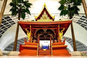 The beautiful Thailand pavilion in  Suvarnabhumi Airport