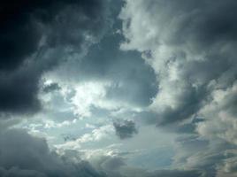 fondo de nubes de tormenta oscura foto