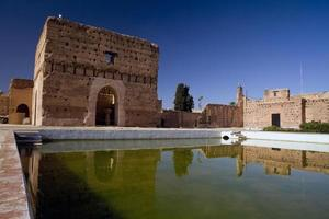 Badi Palace in Marrakech.