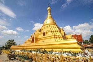 Phra Borom That Temple, Nakhon Chum, Kamphaeng Phet, Thailand.