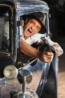 1920s Era Drive By Shooting
