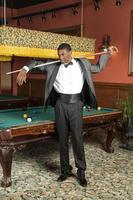 Attractive African American Male in Tuxedo
