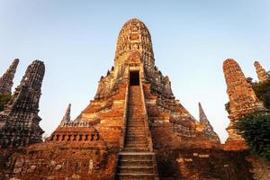 Wat chai wattanaram, Old temple temple in Ayutthaya Historical P