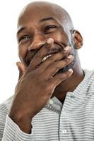 Laughing Black Man Portrait