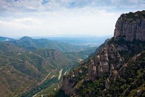 Mountain near Montserrat. Catalonia, Spain photo