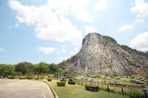 Khao Chee Jan, Carved Buddha Image On The Cliff