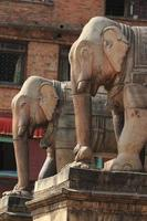 Tempelstadt Bhaktapur en Katmandú Nepal