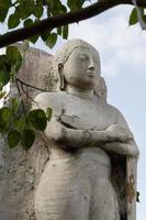 Stone Buddha Statue photo