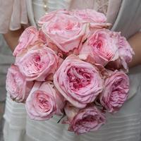 Bouquet de roses vieux rose photo