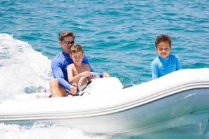great adventure on dinghy