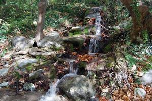 Caída del arroyo en Grecia