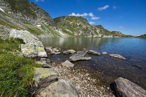 le lac de rein, les sept lacs de rila, la montagne de rila