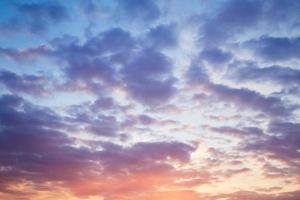 cielo de la tarde