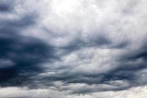 nube de lluvia foto