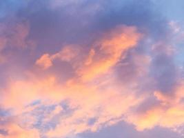 Abstract background : sunlight cloud and sky in evening