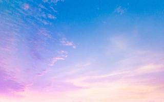 blue sky and orange cloud