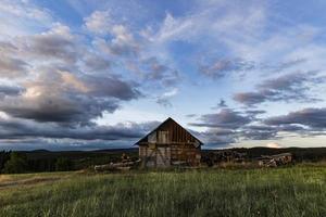 antiguo granero abandonado urbex foto