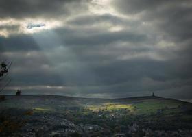 God Rays on the Moor