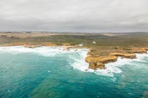 12 Apostles in thte Great Ocean Road in Australia photo