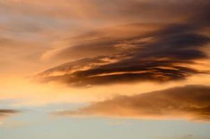 Nube en Patagonia photo