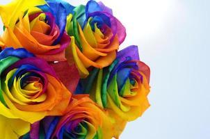 Bouquet of Rainbow rose