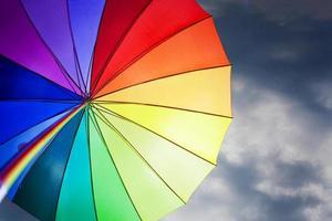 paraguas arcoiris