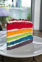 rainbow cake photo