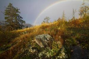 Rainbow on the Oberg Trail