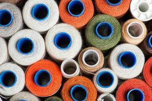 Sewing threads photo