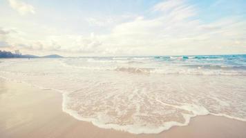 sea beach blue sky sand sun daylight in thailand