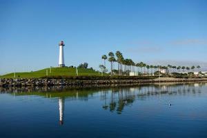 Long Beach Harbor Lighthouse Panorama photo