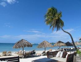 paisaje de vacaciones en la playa