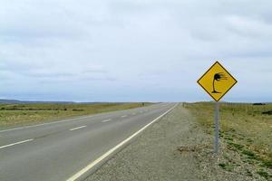 Traffic sign warning of wind