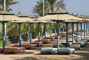 Beach in Sharm el-Sheikh. Egypt