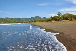Photo of a beach in guanacaste