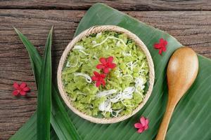 grano de arroz rallado
