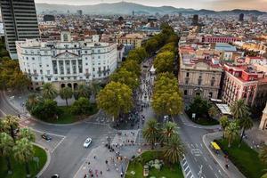 Barcelona in September photo