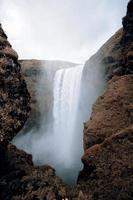 Skogafoss waterfall photo