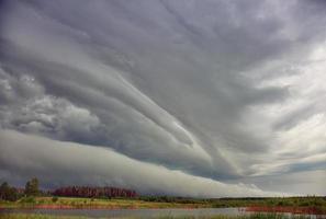 nubes de tormenta foto