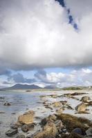 costa en tully cross, parque nacional de connemara, condado de galway