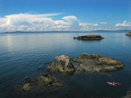 Puget Sound from Rosario State Park photo